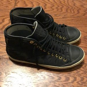 Tretorn Gore-Tex Black Sneakers